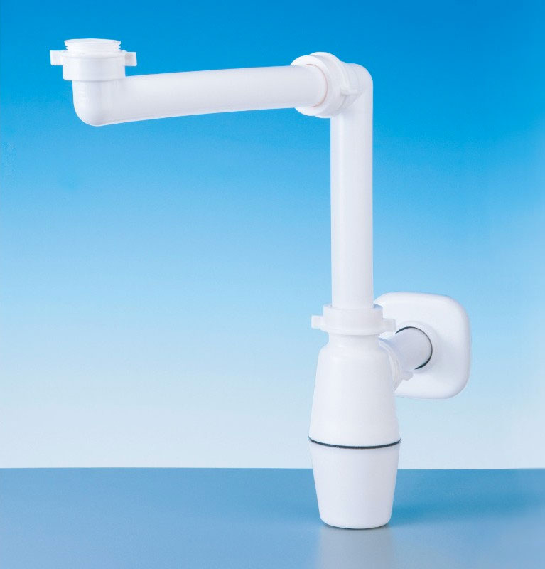 LIRA Space Saver Plumbing Kit for Wash Basin with Bottle Trap