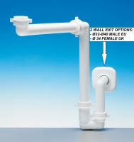 LIRA Space Saver Plumbing Kit for Bathroom Wash Basin
