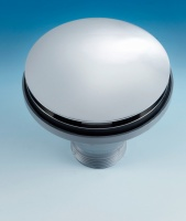 Kitchen Sink Drain Outlet Cover - ø115mm (Satin)