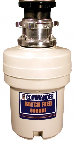 Commander Deluxe 9000BF Batch Feed Waste Disposer