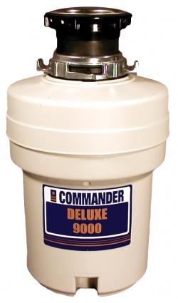 Commander Deluxe 9000 Waste Disposer