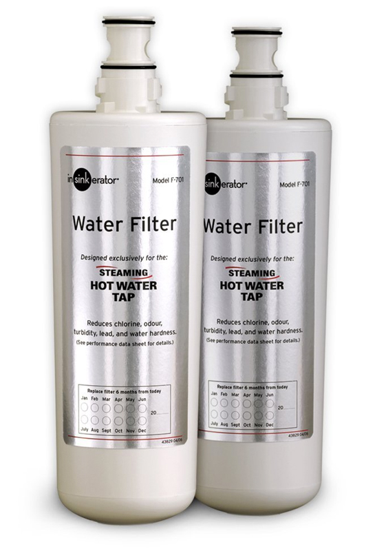 ISE (In Sink Erator) Replacement Water Filter (Pair)  F-701R