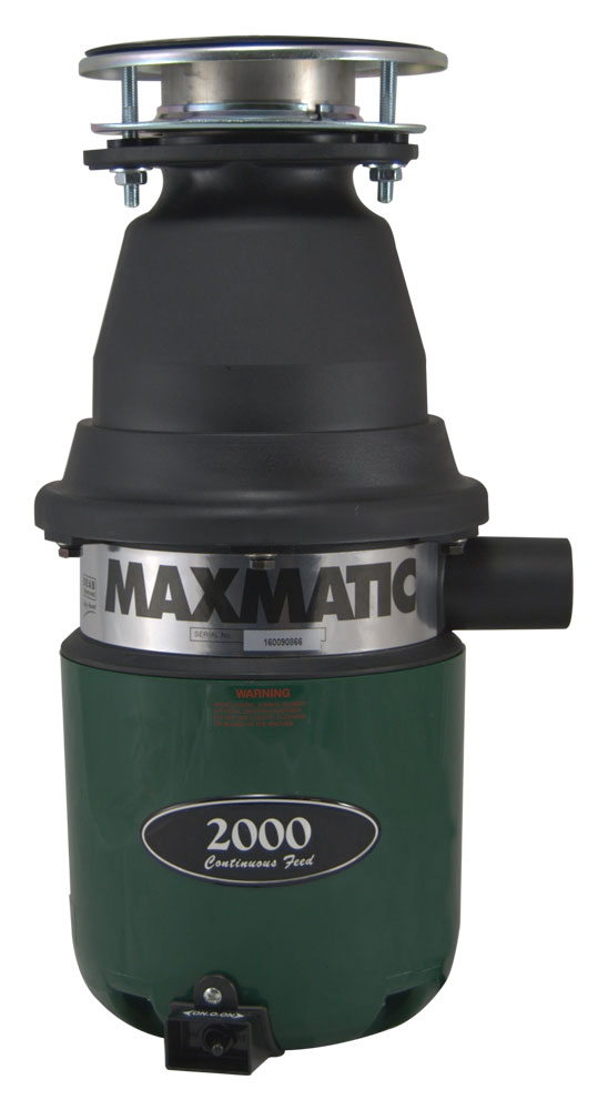 Maxmatic 2000 Waste Disposal Unit
