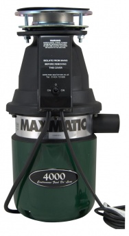 Maxmatic 4000 Waste Disposal Unit with Magnitube