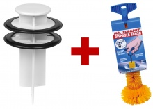 Mr Scrappy Multi-Use Disposer Tool & Brush Kit